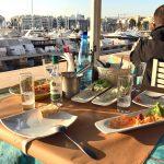 Restaurant im Yachthafen